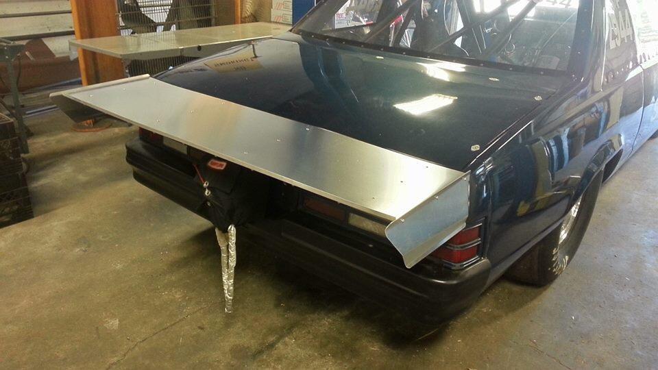 1978-1981 Malibu Fabricated Wing   Innovative Racecraft