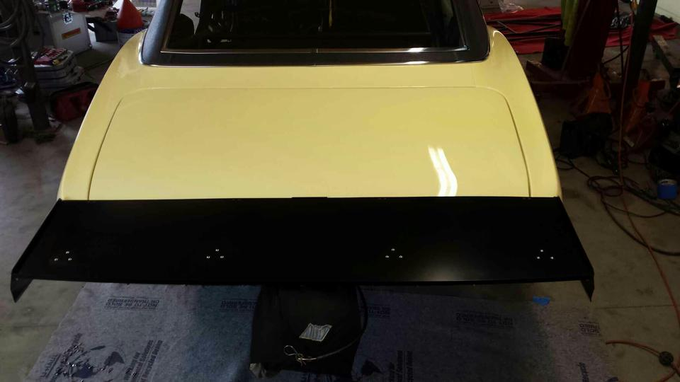 1967-1968 Camaro Fabricated Wing