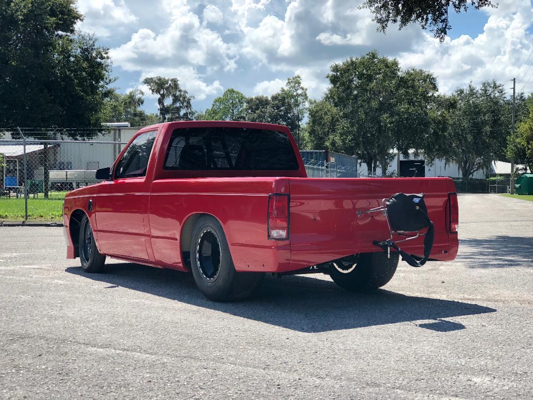 1982-93 S10 Lexan Rear Window Oversize